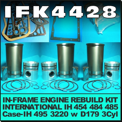 Wagga Tractor parts - IFK4428 In-Frame Engine Rebuild Kit