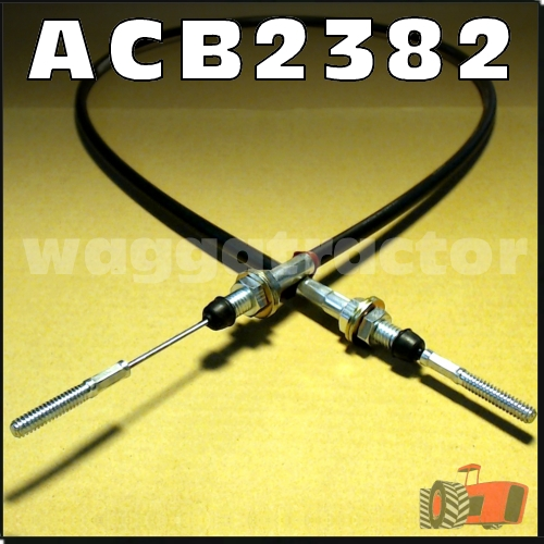 Wagga Tractor parts - ACB2382 Accelerator or Throttle Cable
