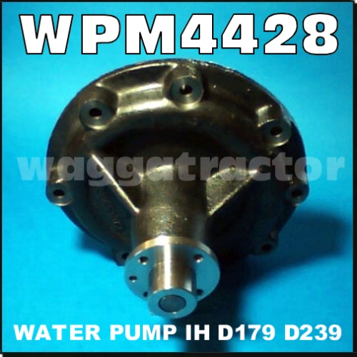 Wagga Tractor parts - WPM4428 Water Pump International 454 ... on