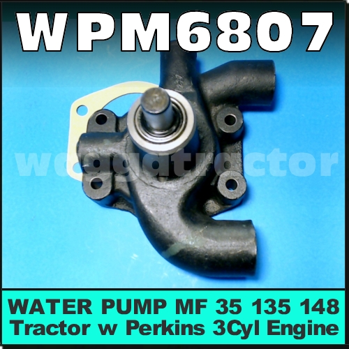 Heavy Equipment Parts & Accessories WATER PUMP PULLEY MASSEY ...