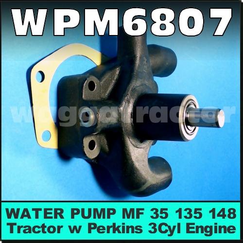 MASSEY FERGUSON  WATER PUMP GASKET FITS 35 135  148