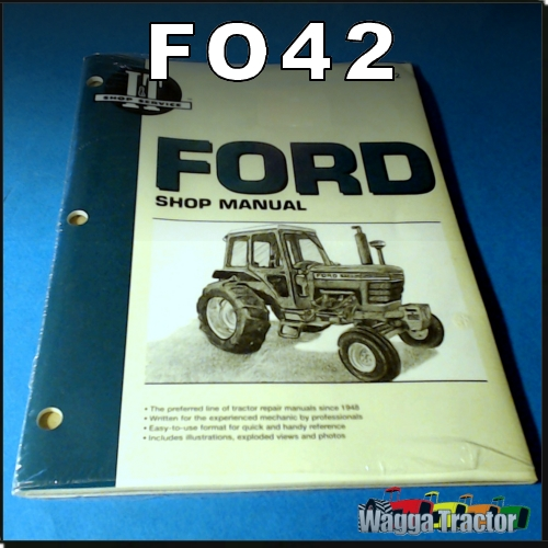 wagga tractor parts fo42 workshop manual for ford 5000 6600 6610 rh waggatractorparts com Workshop Manuals Oilfield Well Testing Workshop Manuals Oilfield Well Testing