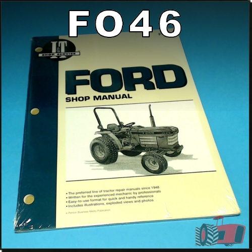Wagga Tractor parts - FO46 Workshop Manual Ford 1120 1520