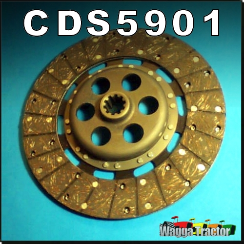 Wagga Tractor parts - CDS5901 Clutch Drive Disc Massey