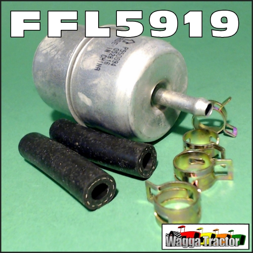 Wagga Tractor parts - FFL5919 Fuel Filter Massey Ferguson