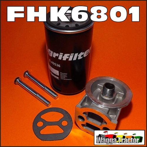 Wagga Tractor parts - FHK6801 Oil Filter & Head Kit Massey
