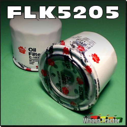 FLK5205 Oil Fuel Filter Kit Kubota