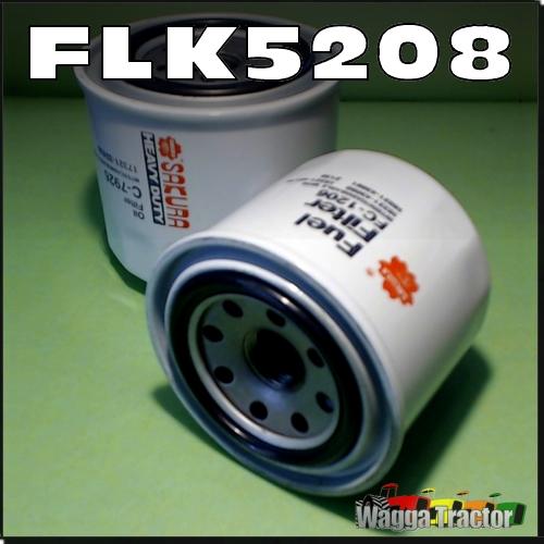 FLK5208 Oil Fuel Filter Kit Kubota