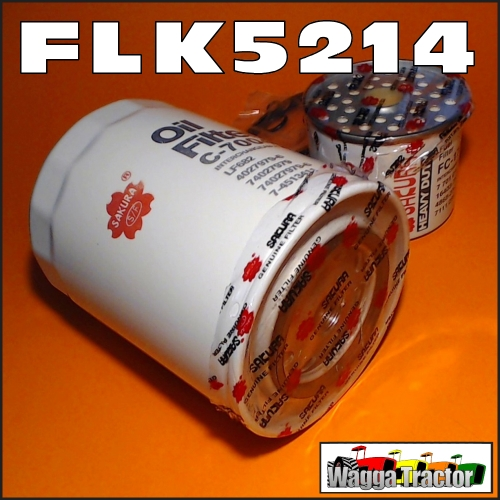 Wagga Tractor parts - FLK5214 Oil Fuel Filter Kit Kubota