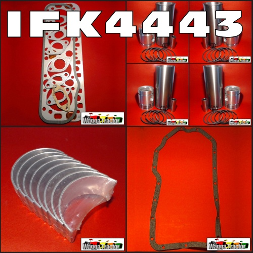 IFK4443 In-Frame Engine Rebuild Kit International AWD6 Super-AWD6 AWD7  Super-AWD7 A554 564 Tractor with IH AD264 Diesel Engine
