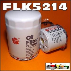 Wagga Tractor parts - FLK5214 Oil Fuel Filter Kit Kubota