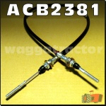 ACB2381 Accelerator or Throttle Cable Chamberlain 3380 3380B Tractor