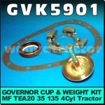 GVK5901 Governor Cup Kit Massey Ferguson TEA20 Tractor & MF 35 135 w 4Cyl Engine