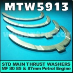MTW5913 Main Bearing Thrust Set Massey Ferguson TEA20 35 135 Tractor w MF 4Cyl P