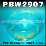 PBW2907 Air Intake Pre Cleaner Precleaner Bowl 184mm 7.25in OD
