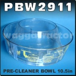 PBW2911 Air Intake Pre Cleaner Precleaner Bowl 265mm 10.45in OD