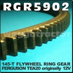 RGR5902 Flywheel Ring Gear Massey Ferguson MF TEA20 Tractor Originally 12 Volt