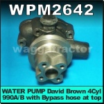 WPM2642 Water Pump David Brown 990 Implematic & Early Selectomatic Tractor with AD4/47 Diesel Engine