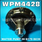 WPM4428 Water Pump International 454 574 Tractor & Case-IH 485 585 all with 3Cyl and 4Cyl Diesel Engine