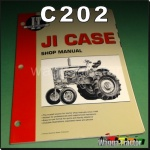 C202 Workshop Manual JI Case 730 830 930 1030 Tractor and 500 600 900B