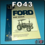 FO43 Workshop Manual Ford 2810 2910 3910 Tractor with 3Cyl Diesel Engine