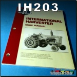 IH203 Workshop Manual International IH 454 574 674 584 Tractor & 766 786 886 986