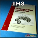 IH8 Workshop Manual International IH W4 W6 WD6 W9 WD9 Tractor can use for A554