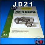 JD21 Workshop Manual John Deere 1010 2010 Tractor w JD 145D 165D Diesel Engine