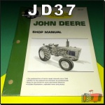 JD37 Workshop Manual John Deere 1020 2030 Tractor w JD 152D 219D Diesel Engine