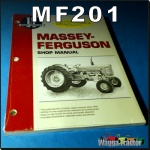 MF201 Workshop Manual Massey Ferguson MF 65, Super-90, 1080, 1085, 1100, 1105, 1130, 1135, 1155 Tractor with Perkins 4-203D 4-300 4-318 4-Cyl, 6-354 T6-354 TC6-354 6-Cyl, and V8-510 V8-540 8-Cyl Diesel Engine