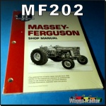 MF202 Workshop Manual Massey Ferguson MF 175, 2675, 2705, 2775, 2805 Tractor with Perkins 4-236 4-Cyl, 6-354.4 T6-354.4 6-Cyl, and V8-540 V8-640 TV8-640 8-Cyl Diesel Engine