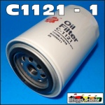 C1121 Spin-On Oil Filter Dodge D3F, D5N, 200, 300, 400, 500 Truck with Chrysler 245 6-Cyl Engine and D5N 200, 300 Truck with Chrysler 318-1, 318-2 V8 Engine, built 1973, only with 3/4-16 thread