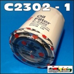 C2302 Oil Filter Bedford C, E, K, T Series Truck with Holden 202 6-Cyl, and 253, 308 V8 Petrol Engine