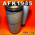 AFK1935 Air Filter Element Kit Case-IH CX70 CX80 CX90 CX100 Tractor