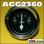 AGG2306 Ammeter Amp Gauge Chamberlain Champion 6G, 9G, 212, 236, 306, C456, C670 Tractor, Countryman 6, 354, C6100 Tractor, and Mk2, Mk3, Mk4 Industrial Loader