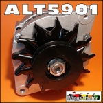 ALT5901 Alternator Massey Ferguson MF 240, 245, 250, 265, 275, 285, 290, 298, 550, 565, 575, 590, 675, 690, 698, 2645, 2685, 2720, 2725 Tractor, 70 Amp  2-Bolt mount