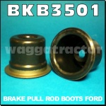 BKB3501 2x Wet Brake Pull Rod Seals or Boots Ford 3000 4000 Tractor & 5000 7000