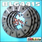 BLG4415 Brake Linings  International B250 Tractor & Early IH B275 A414 B414 Tractor all with 140mm 5.5in OD Brake Discs