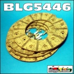 BLG5446 Brake Linings Leyland 344 384 Tractor & Nuffield 3/45 4/65 10/42 10/60