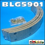 BLG5901 Brake Lining Kit Massey Ferguson TEA20 TEF20 FE35 Tractor & MF 35 135
