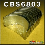 CBS6803 Con Rod Bearing Set Chamberlain 212 236 & Massey Ferguson MF 165 (RH) 168 175 178 185 188 Tractor w Perkins 212 236 248 Engine Std