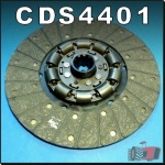 CDS4401 Clutch Disc International IH Super AWD6, AWD7, A554 (Industrial) Tractor - 12in 1.1/2-10T Spline