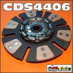 CDS4406 Clutch Disc International A554 564 Ag Tractor IH 766 786 866 886 6-Button Ceramic