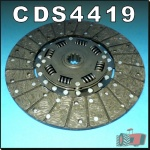 CDS4419 Clutch Disc International 454 574 Tractor & IH 484 584 w 11in Organic