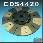 CDS4420 Clutch Disc International 574 674 Tractor & IH 584 684 w 11in Ceramic
