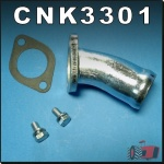 CNK3301 Water Pump to Lower Hose Adaptor Kit Fiat 450 540 640 900 Tractor