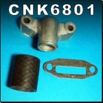 CNK6801 Radiator Hose Connector Kit Massey Ferguson 65 Tractor & MF 165 w LH Exh
