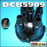 DCB5909 Distributor Cap Rotor Button Massey Ferguson TEA20, 35, 135 Tractor with Replacement Distributor DST5908