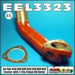 EEL3323 Exhaust Elbow Fiat 450, 480, 500, 540, 550, 640 Tractor with 45mm Outlet