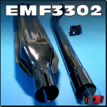 EMF3302 Exhaust Muffler Kit Fiat 411R 450 Tractor & 540 580 680 780 w 46mm Elbow